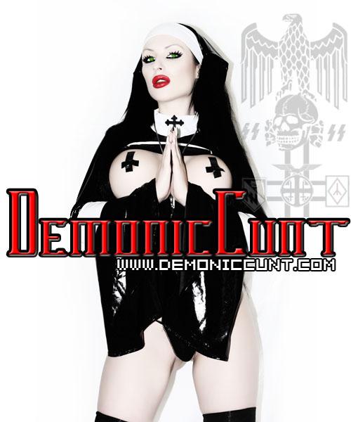 Demoniccunt blasphemy