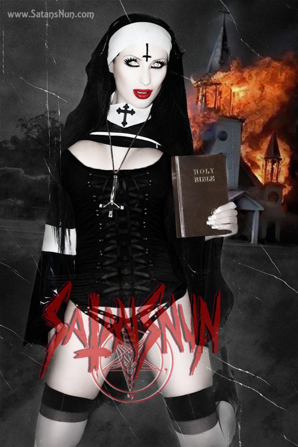 SatansNun Evil Nun Blasphemy